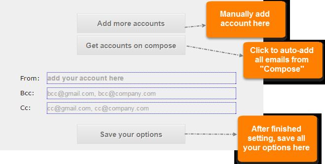 Accounts adding