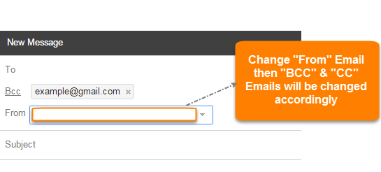 """Change """"From"""" Email"""