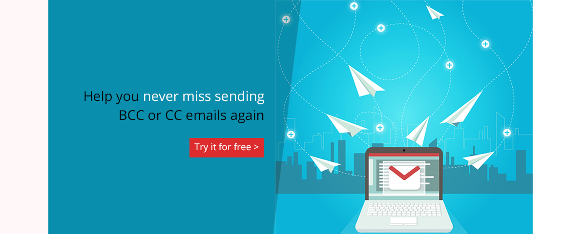 Auto BCC for Gmail & Inbox